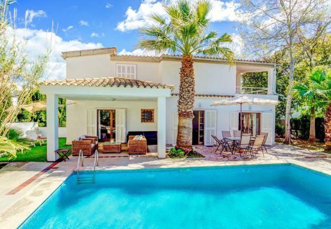 Villa in Ca´n Picafort - Beach Villa Palmeras