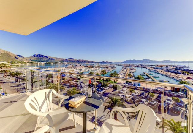 Apartment in Port de Pollença - Seafront Penthouse Faroles 4