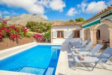 Вилла на Cala Sant Vicenç - Beach Villa Sohn
